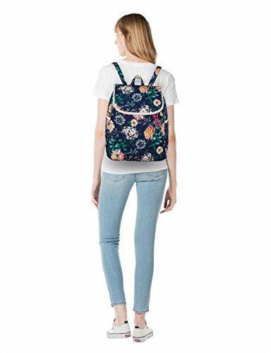 Backpack for Teenage Girls, Floral College Student School School Canvas Bag Knapsack by Hikker-Link (Image #5)
