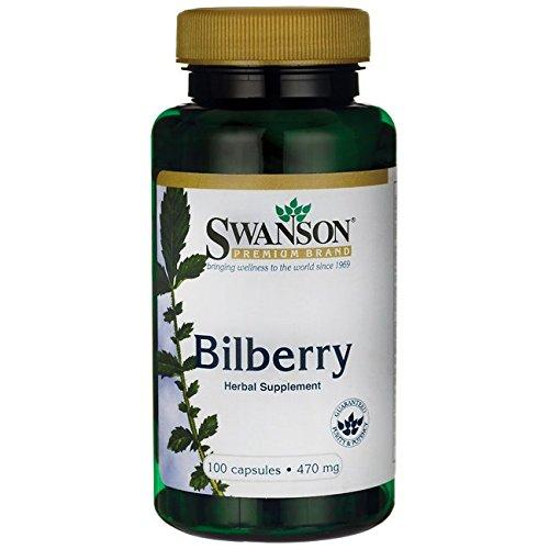 Swanson Bilberry Fruit 470 Caps