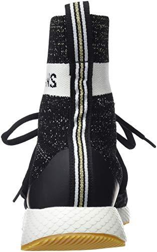 Jeans Koko Baskets 999 Pepe Noir Femme black Sock Hautes USdtq5wx
