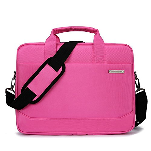 Carrying Laptop Inch Case Notebook Ultrabook 13 Nylon Sleeve 15 Water Tablet Laptop pink With amp;Zipper Bag 3 resistant 6 Bag Handle Computer Briefcase Pocket qXpzUx1Fw
