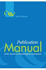 Publication Manual of the American Psychological Association® Spiral-bound