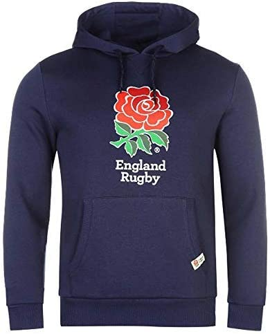 Sudadera oficial de la RFU de Inglaterra con capucha para aficionados al rugby (talla para adultos y niños): Amazon.es: Ropa y accesorios