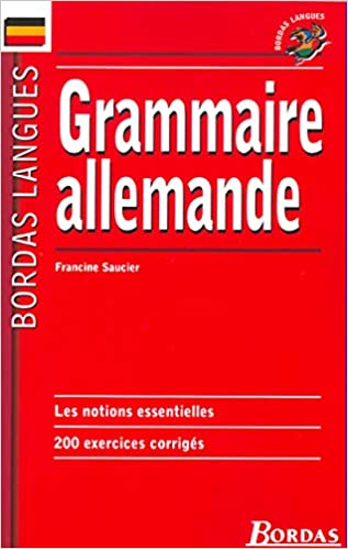 Bordas Langues Grammaire Allemande Amazon Fr Bordas