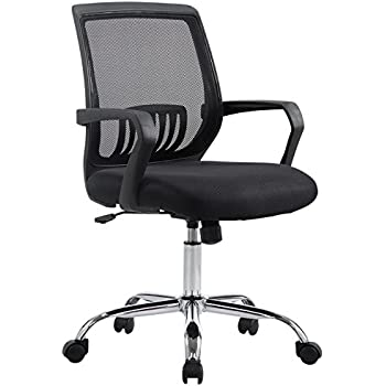 Poly and Bark Gerberding Office Chair, Black