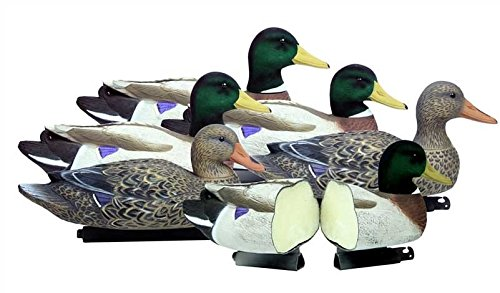 Battleship Mallard, Foam Filled, Flocked Heads Higdon Outdoors Battleship Mallard, Foam Filled, Flocked Heads