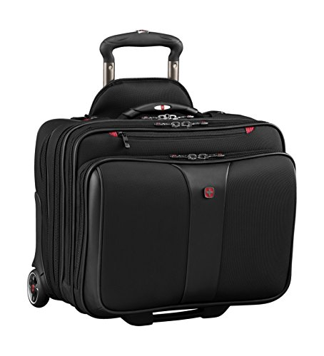 "Wenger Luggage Patriot Ii 2-Piece 15.6"" Wheeled Business Set Laptop Bag, Black, One Size"
