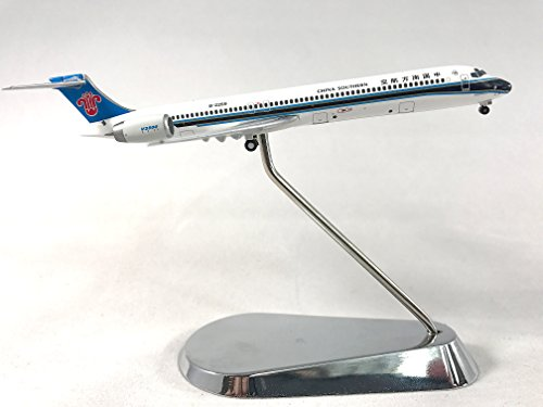 geminijets-china-southern-mcdonnell-douglas-md-90-diecast-airplane-model-b-2259-with-chrome-stand-14