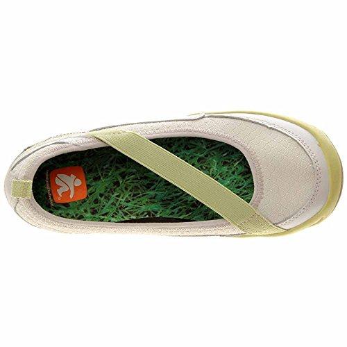 Cushe Kvinna Bambu Mocka Avslappnad Slip-on Flat Walking Sko Ljusgrön