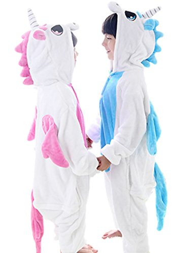 Halloween Costumes 5t (HalloweenCostumeParty Pink Unicorn onesie costume for toddler girls (XS(5T))