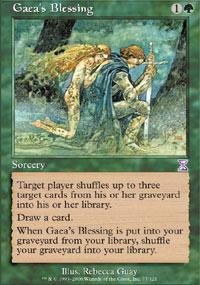 Magic: the Gathering - Gaea's Blessing - Timeshifted