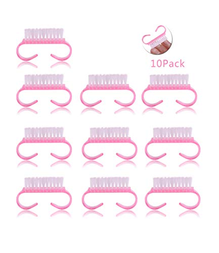 HNYYZL 10 Pcs Nail Brush For Cleaning Fingernail Scrub Brush for Toes and Nails Cleaner, Pedicure Brushes for Men and Women