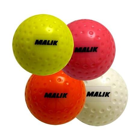 Malik - Pelota de hockey sobre hierba amarillo fluorescente ...