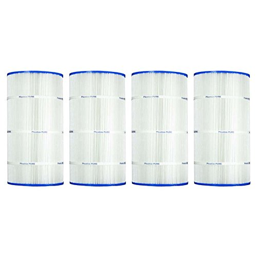 4 Pack Pleatco PA90 90sqft Filter Cartridge for Hayward C900 CX900RE Sta-Rite PXC-95 by Pleatco