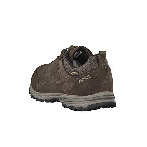 Meindl 3949 46 - Zapatillas de senderismo de Piel para hombre Marrón - marrón oscuro