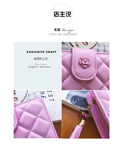 Moda Portafoglio Semplice Rosa Qianbaoo Breve Nuovo Paragrafo BpyWBR8q