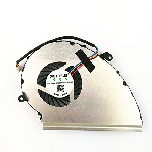Cooler para MSI GE72VR GP72VR GL72VR GP72MVR GP72M Series 4-Pin GPU PAAD06015SL N372 Fan