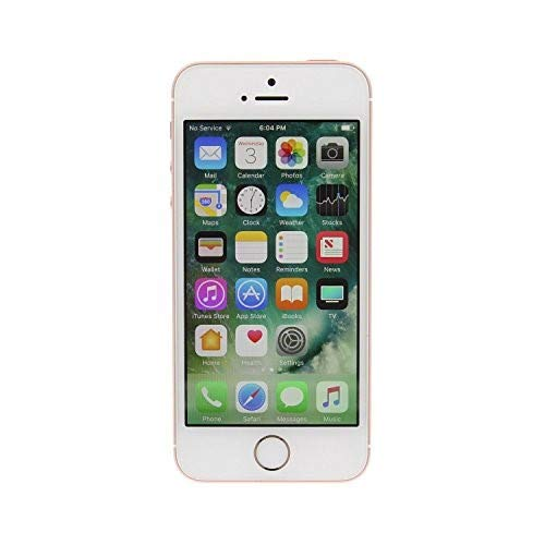 Apple iPhone SE, GSM Unlocked, 64GB - Rose Gold (Renewed) by Apple