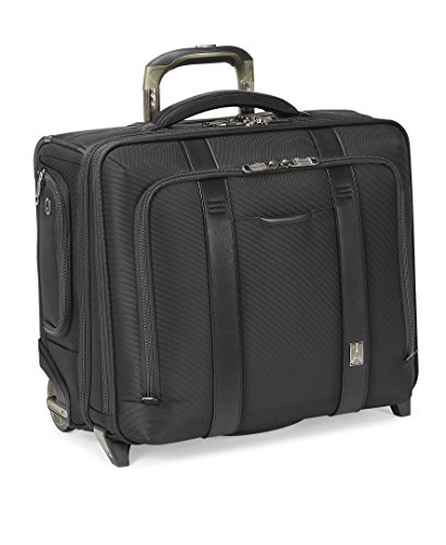 - Travelpro Crew Executive Choice 2 Wheeled Brief bag, 17-in with USB port