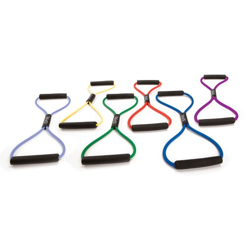 SPRI Ultra Toner Resistance Band Figure 8 Exercise Cord (All Bands Sold Separately)