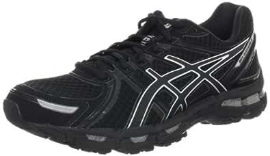 ASICS Women's Gel-Kayano 19 Running Shoe,Black/Onyx/Lightning,5 M US