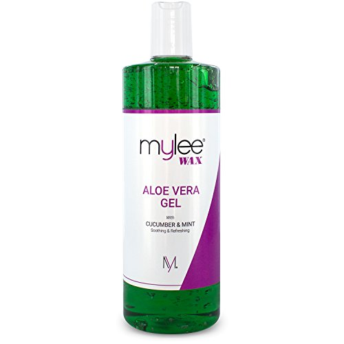 Mylee Pure Aloe Vera Soothing Gel After Care Waxing Hair Removal Depilation Wax Skin Treatment After Sun 500 ml