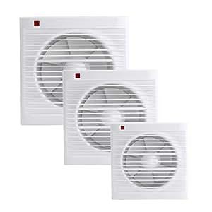 Waterproof Mute Bathroom Extractor Exhaust Fan Window For ...
