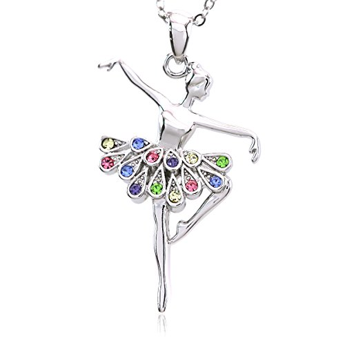 SoulBreezeCollection Dancing Ballerina Pendant Necklace product image