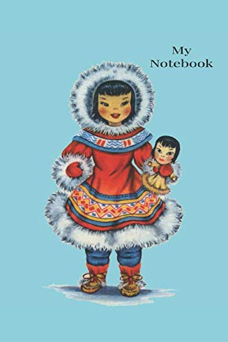 - Notebook: Vintage  traditional Costume Dolls of The World Notebook