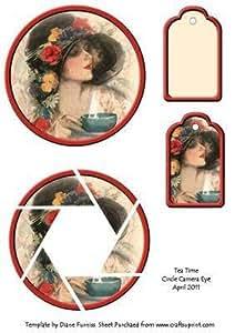 Tea Time de círculos de ojo de cámara por Diane Furniss