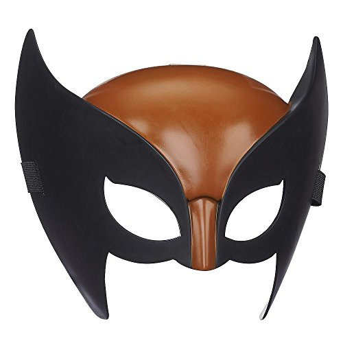 (X Men Marvel Brown & Black Wolverine Hero Mask)