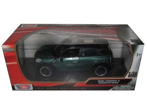 Mini Cooper S Countryman Oxford Grün 1/24 by Motormax 73353 by Motormax