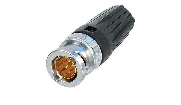 HD SDI cable libre de halógenos azul con Neutrik BNC 50 m ...