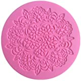 Doily Lace Pattern Decorating Silicone Mold (Style 2) - Custom Silicone Molds from Bakell