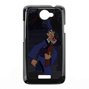 HTC One X Cell Phone Case Black Disney Mulan Character Chi Fu S4742987