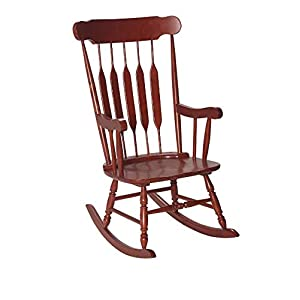 Gift Mark Giftmark Adult Rocking Chair-Cherry