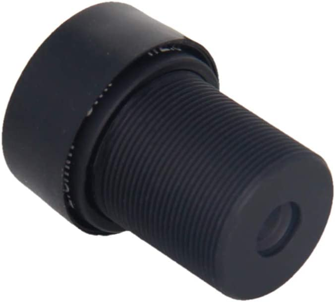 Othmro Camera Lens 5MP 16mm,F2.0 M12 Mount Manual Lens for CCTV Camera 2PCS