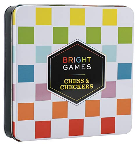 Chess Tin - Bright Games Chess & Checkers
