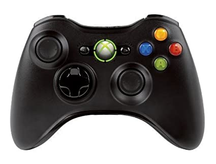 Official Xbox 360 Wireless Controller   Bulk Packaging   Black (Oem) by Amazon