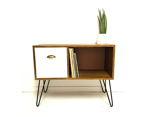 Merveilleux Amazon.com: Vinyl Record Storage, Console Table, Mid Century Modern Table,  Mid Century Cabinet, Sideboard, Vinyl Storage, Coffee Table, Media Console:  ...