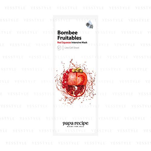 Papa Recipe Bombee Fruitable Red Squeeze Intensive Mask 10 Sheets by Papa Recipe