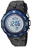 Casio Men's Pro Trek Stainless Steel Quartz Watch with Resin Strap, Black, 23 (Model: PRW-3100YB-1CR)