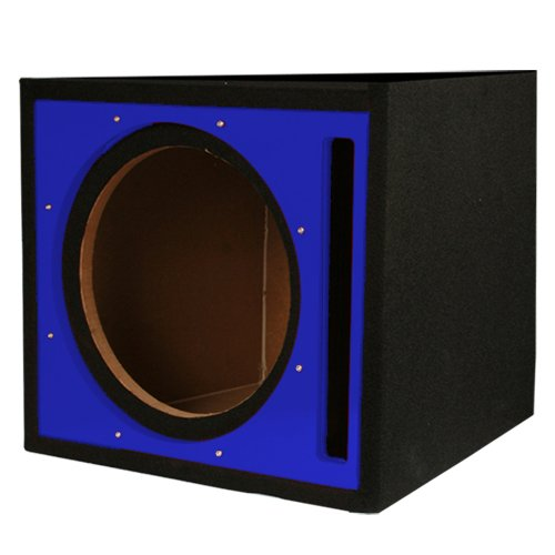 Absolute PSEB10BL Single 10-Inch Ported Subwoofer Enclosure