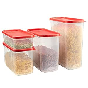Rubbermaid 8-Piece Modular Canister Set