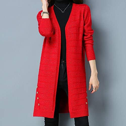 Automne Débardeur Lâche Femmes Trench Manteaux Mode De Tricoté Survêtement Dames Top Pulls Hiver Des Casual Manteau Veste Ysfu Pull vmn0Oy8wN