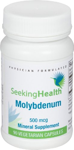 Molybdenum Supplement Vegetarian Seeking Health