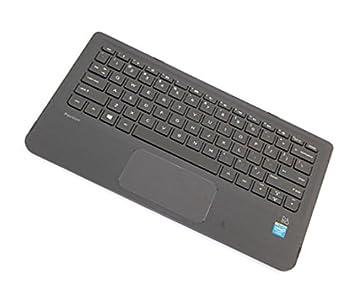 HP 809543-FL1 Carcasa inferior con teclado refacción para ...