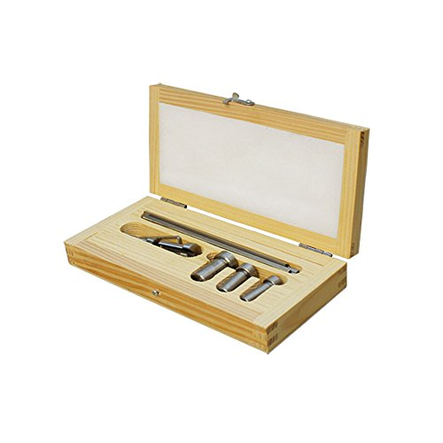 Broach Set - 9 PC Standard HSS Keyway Broach Set Cutting Cutter Bushings Shim Harden