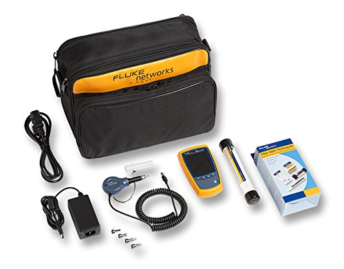 Fluke Networks FI-525 Fiber Optic Inspection Camera, with Cleaning Supplies by Fluke Networks
