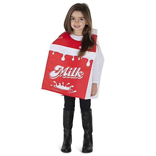 Milk Cartons For Halloween (Dress Up America Milk Carton Costume for Kids - Product Comes Complete with: Tunic)