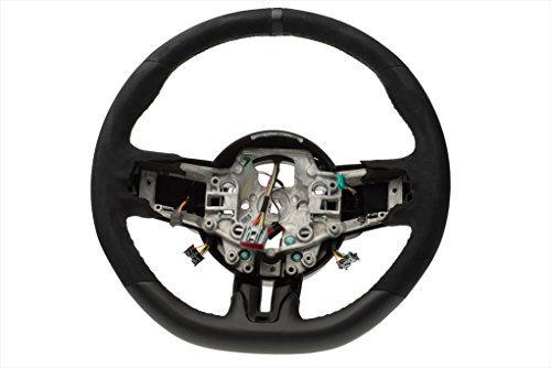 2015-2016 Ford Mustang Shelby GT350 Steering Wheel Black Leather OEM FR3Z3600AC ()